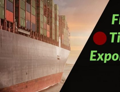 first time exporter