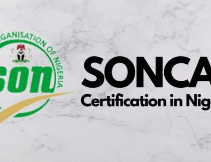 SONCAP Requirements in Nigeria