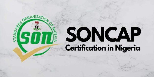 SONCAP Requirements in Nigeria