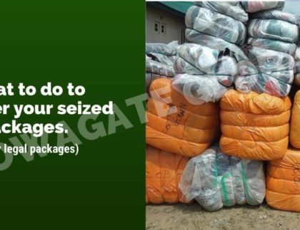 reclaim your packages from Customs
