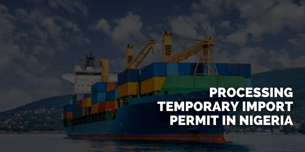 Obtaining a Temporary Import License
